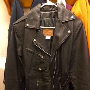 Walter Dyer leather jacket NWOT
